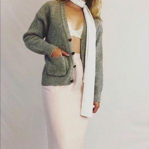 *Vintage Wool Button Down Cardigan*